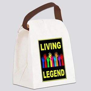 LIVING LEGEND Canvas Lunch Bag