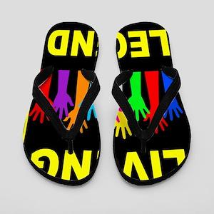 LIVING LEGEND Flip Flops