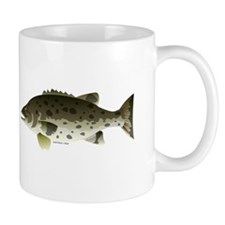 Giant Black Sea Bass fish Mug