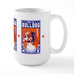 Obey the English Bulldog! Large Mug
