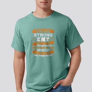 behind every strong emt  Mens Comfort Colors Shirt