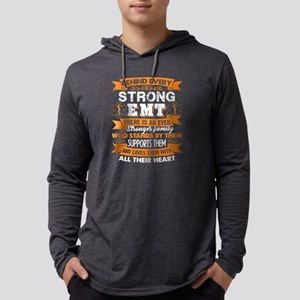 behind every strong emt shirts Mens Hooded Shirt