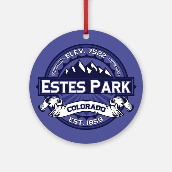 Estes Park Midnight Ornament (Round)
