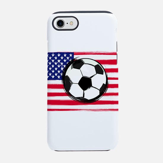 USA Soccer iPhone 7 Tough Case