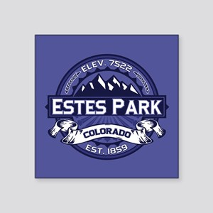 """Estes Park Midnight Square Sticker 3"""" x 3"""""""