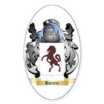 Barrere Sticker (Oval 50 pk)