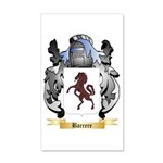Barrere 20x12 Wall Decal