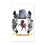 Barrere 35x21 Wall Decal