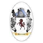Barreras Sticker (Oval 50 pk)