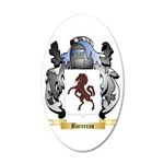 Barreras 20x12 Oval Wall Decal