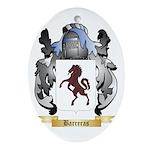 Barreras Ornament (Oval)