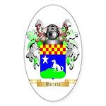 Barrera Sticker (Oval 10 pk)