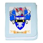 Barrelet baby blanket