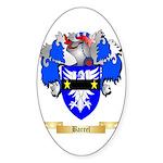 Barrel Sticker (Oval 50 pk)
