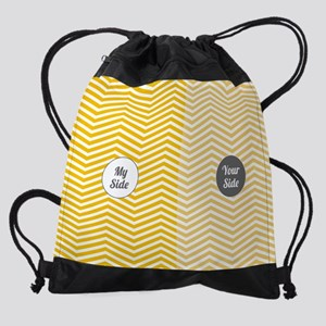 My Side Your Side Drawstring Bag