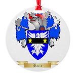 Barre Round Ornament