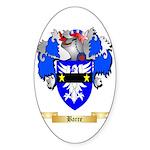 Barre Sticker (Oval 50 pk)