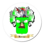 Barraza Round Car Magnet