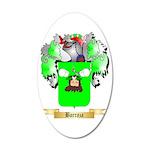 Barraza 35x21 Oval Wall Decal