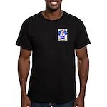 Barraux Men's Fitted T-Shirt (dark)