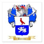 Barraux Square Car Magnet 3