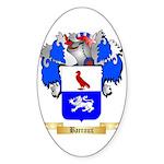 Barraux Sticker (Oval 50 pk)