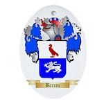 Barrau Ornament (Oval)