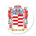 Barrat Round Car Magnet