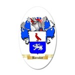 Barralier 35x21 Oval Wall Decal