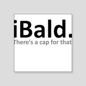 iBald Funny Bald Balding Sticker