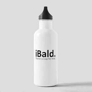 iBald Funny Bald Balding Water Bottle