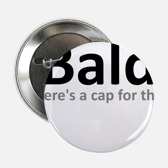 "iBald Funny Bald Balding 2.25"" Button"