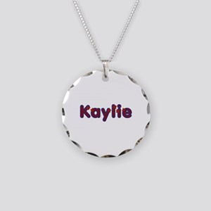 Kaylie Red Caps Necklace Circle Charm