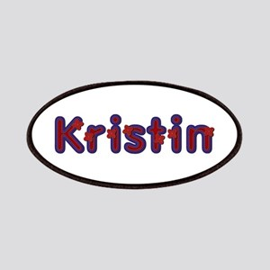 Kristin Red Caps Patch