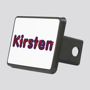 Kirsten Red Caps Rectangular Hitch Cover