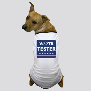 Vote Jon Tester Dog T-Shirt