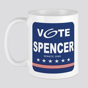 Vote John Spencer Mug