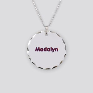 Madalyn Red Caps Necklace Circle Charm