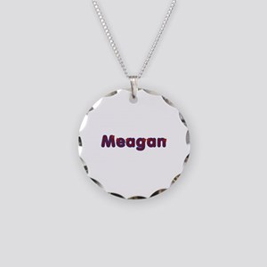 Meagan Red Caps Necklace Circle Charm