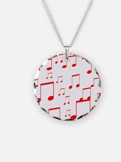 MUSICAL NOTES Xâ?¢.psd Necklace