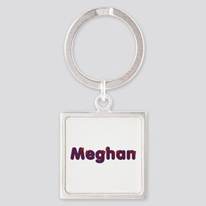Meghan Red Caps Square Keychain