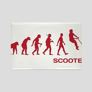 Darwin Ape to man Evolution Push Kick Scooter Rect