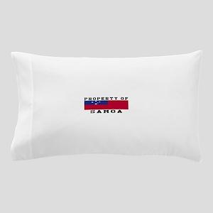 Property Of Samoa Pillow Case