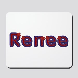 Renee Red Caps Mousepad