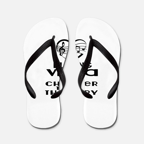 Viola Is Cheaper Than Therapy Flip Flops