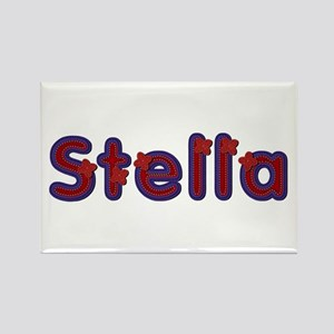 Stella Red Caps Rectangle Magnet