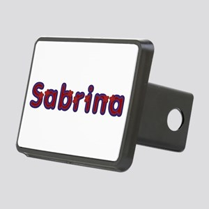 Sabrina Red Caps Rectangular Hitch Cover
