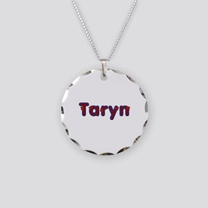 Taryn Red Caps Necklace Circle Charm