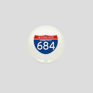 Interstate 684 - CT Mini Button
