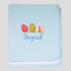 Easter Egg Ingrid baby blanket
